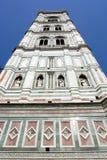 Firenze, torretta di segnalatore acustico Giotto Immagini Stock Libere da Diritti