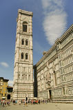 Firenze tower of the church Stock Image