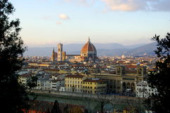 Firenze, Tuscany, italy. View on the city of Florence, Tuscany, Italy Royalty Free Stock Photos