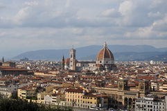 Firenze, Tuscany, Italy. Firenze, the medieval city in the Tuscany in Italy. Visited in summer. Firenze, also called Florence, is the capital of the Tuscany. The Royalty Free Stock Photography
