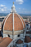 Firenze, Tuscany, Italy. Firenze, the medieval city in the Tuscany in Italy. Visited in summer. Firenze, also called Florence, is the capital of the Tuscany. The Royalty Free Stock Images