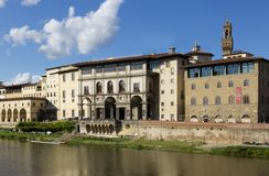 Firenze Uffizi Arkivbild