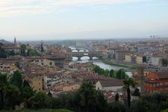 Firenze. View from Piazzale Michelangelo Royalty Free Stock Photography