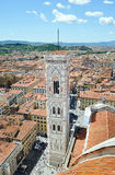 Firenze Vista superiore della città Fotografia Stock Libera da Diritti