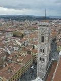 Firenze vu par Cupola del Brunelleschi Image libre de droits