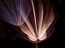Fireowrks descendente Imagen de archivo libre de regalías