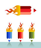 Firepencil Royalty Free Stock Photography