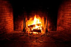 Free Fireplace Stock Image - 12376301