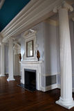 Fireplace. In the Great Hall, Old British Exchange, Charleston Royalty Free Stock Images
