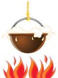 Fireplace Stock Photo
