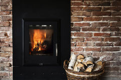 Free Fireplace Royalty Free Stock Photo - 34927025