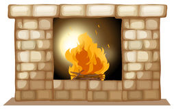 A fireplace Stock Photos