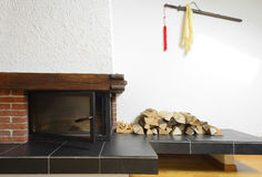fireplace Royalty-vrije Stock Foto