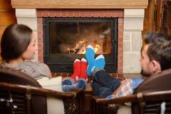 fireplace Imagem de Stock Royalty Free