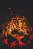 fireplace Imagens de Stock Royalty Free