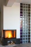fireplace royalty-vrije stock foto's