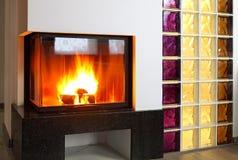 fireplace stock foto