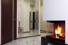 fireplace stock fotografie