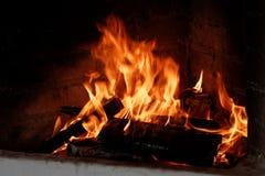 fireplace Royalty-vrije Stock Afbeeldingen