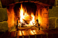 Free Fireplace Royalty Free Stock Photo - 50286055