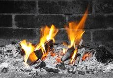 Fireplace Royalty Free Stock Photo
