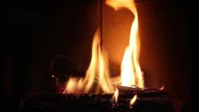 fireplace stock videobeelden