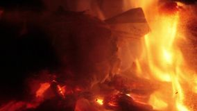 fireplace stock videobeelden