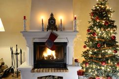 fireplace Fotos de Stock Royalty Free
