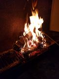 fireplace Fotografia de Stock
