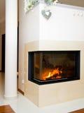 fireplace foto de stock