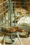 Fireplace bellows. Stock Photos