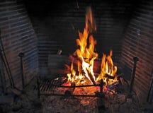 Fireplace and bonfire Stock Photos