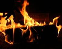 Fireplace Close-up Stock Image