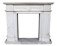 Fireplace decorated Royalty Free Stock Photography