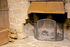 Fireplace firewood Royalty Free Stock Photos