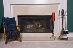 Fireplace and Hearth stock photography