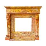 Fireplace isolated Stock Image