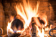 The fireplace Royalty Free Stock Images