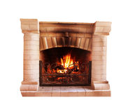 Fireplace Royalty Free Stock Photography