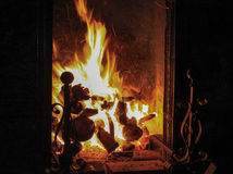 Fireplace Stock Photography