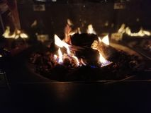 fireplace fotografia de stock royalty free