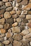 Fireplace Rock Background Stock Photography