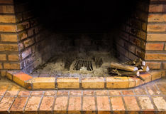 Fireplace room. Stock Image
