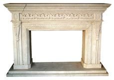 Fireplace Style Home Interior Royalty Free Stock Image