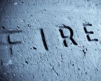 Fireproof brick Royalty Free Stock Image