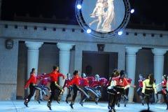Fires of Anatolia. Performance in the amphitheater of Anatolia. Stock Photo