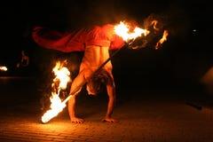 Fireshow Fotografia Stock Libera da Diritti