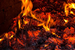 Fireside Royalty Free Stock Photos