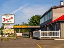 The Fireside Inn stock photography