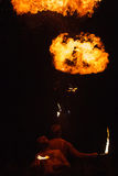 Firespitter Imagenes de archivo